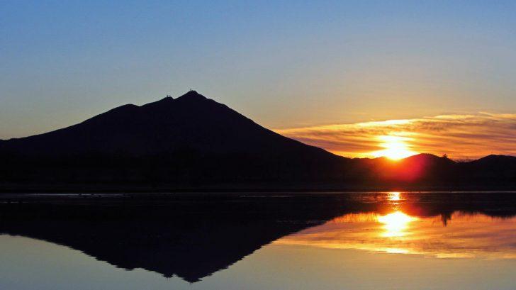 筑波山の初日の出