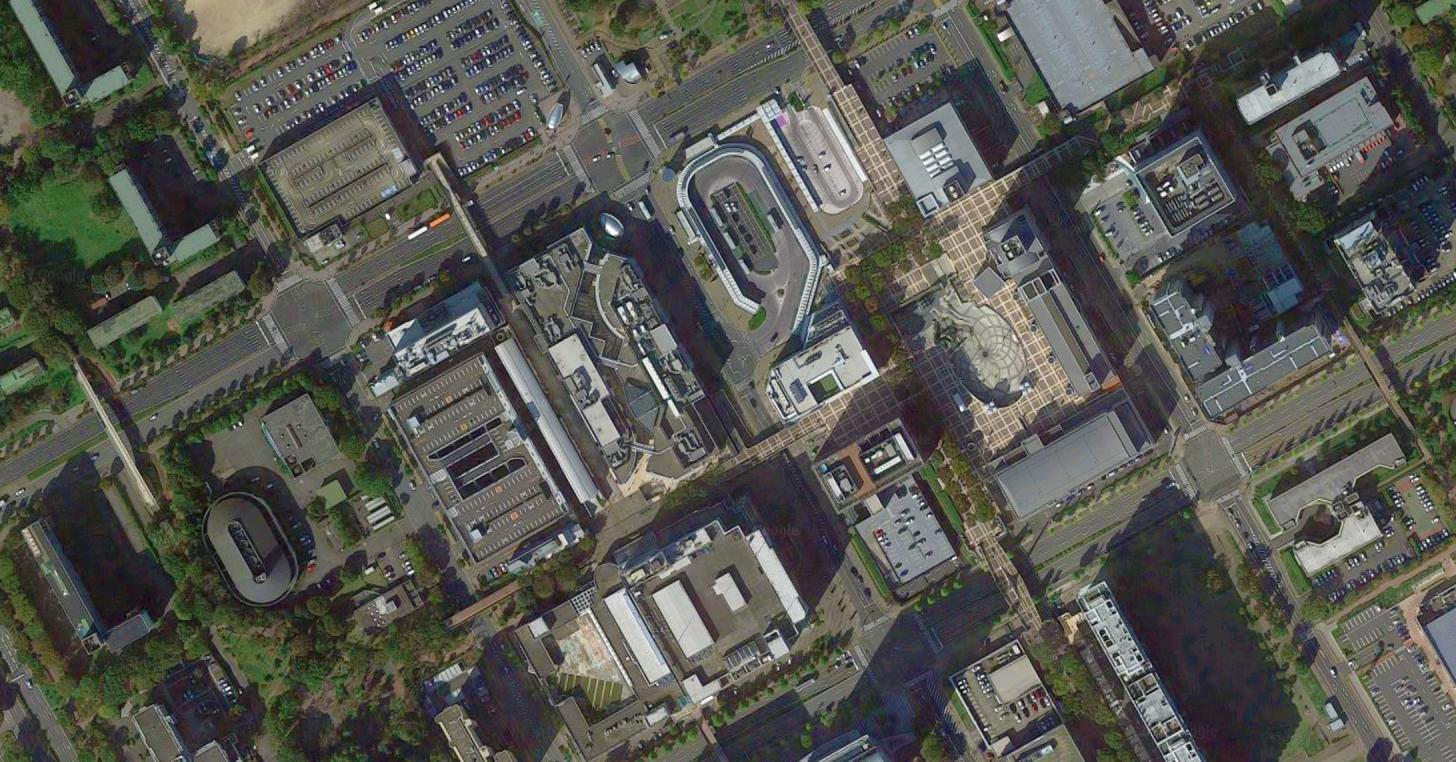 つくばイオン駅前店周辺図